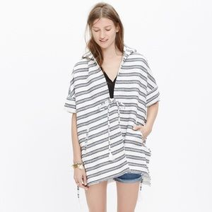 Madewell Oversized Hooded Poncho . Size Small